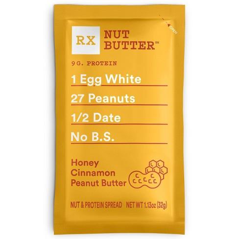 RX Nut Butter Honey Cinnamon Peanut Butter Spread - 1.13oz - image 1 of 3
