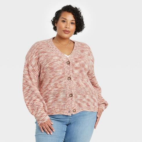 Women's Plus Size Cardigan - Ava & Viv™ - image 1 of 3