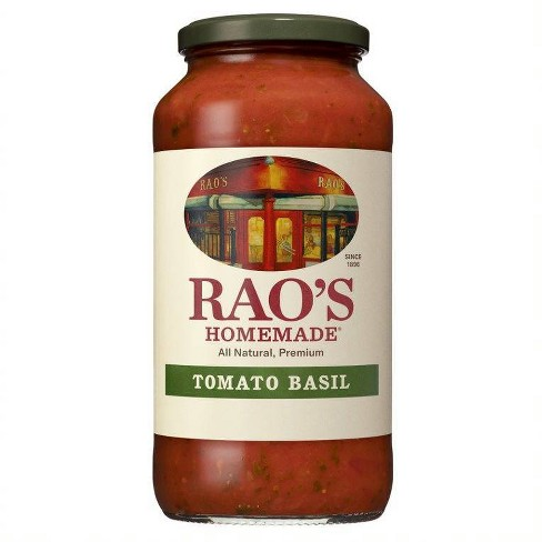 Rao's Homemade Tomato Basil Marinara Sauce 24oz - image 1 of 3