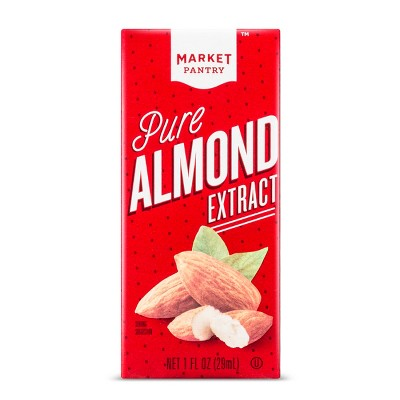 Pure Almond Extract - 1 fl oz - Market Pantry™