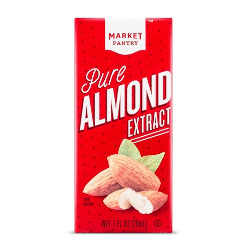 Pure Almond Extract - 1 fl oz - Market Pantry™ - image 1 of 1