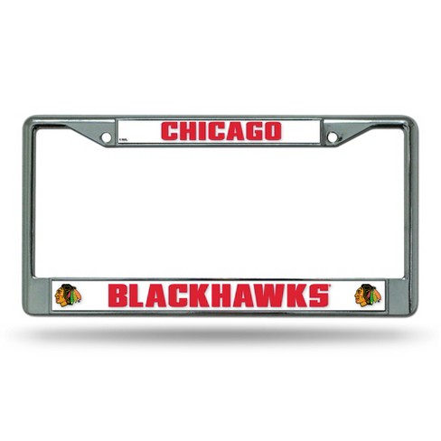 NHL Rico Industries Chrome License Plate Frame - image 1 of 1