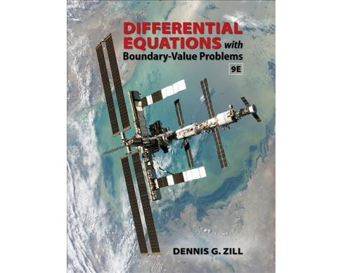 Differential Equations with Boundary-Value Problems (Hardcover) (Dennis G. Zill) - image 1 of 1