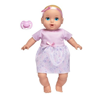 "Perfectly Cute 14"" My Sweet Baby Doll - Blonde with Blue Eyes"