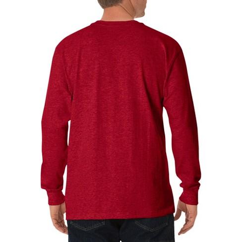 c0af9f7a Dickies® Men's Cotton Heavyweight Long Sleeve Pocket T-Shirt : Target