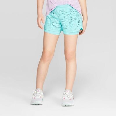 Girls' Layered Run Shorts   C9 Champion® by C9 Champion®