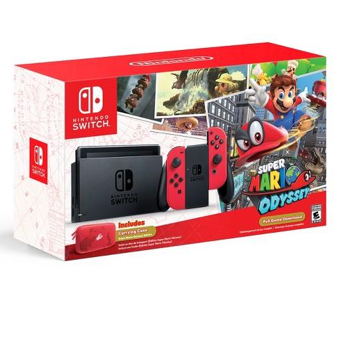 Nintendo Switch Super Mario Odyssey Edition Target