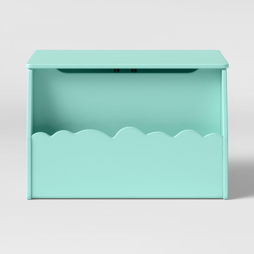 Kids Cloud Toy Storage Bin Mint (Green) - Pillowfort
