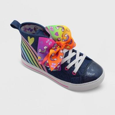 Toddler Girls' Nickelodeon JoJo Lace-Up Sneakers