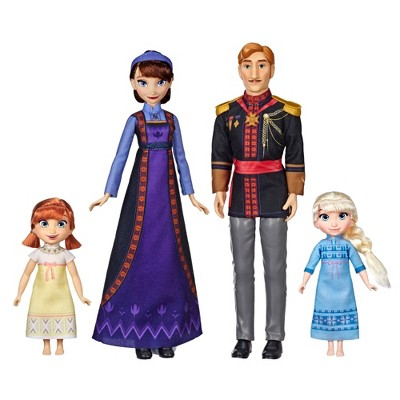 Disney Frozen 2 Arendelle Royal Family Fashion Doll Set