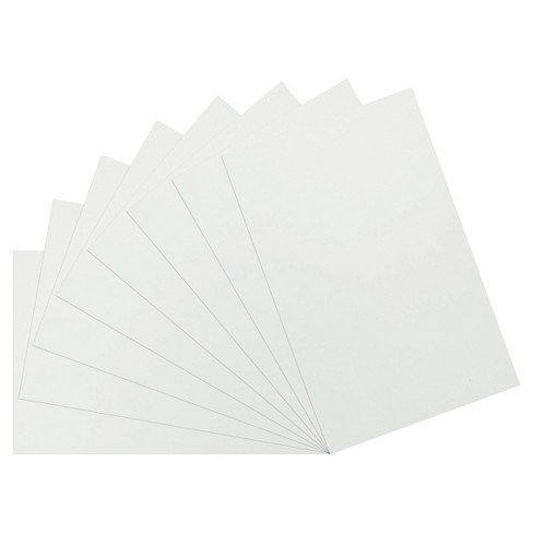 White Poster Board 14x22 8 Ct - Up&Up™ : Target