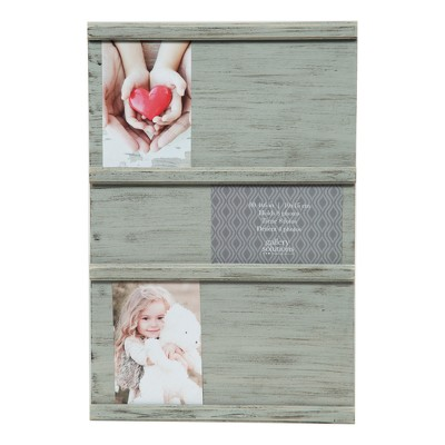 Multiple Image 12X18 Grey Sliding Photo Collage Frame - Gallery Solutions