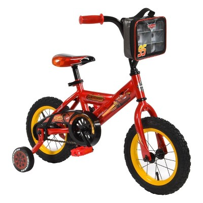 "Huffy Cars 12"" Kids' Bike - Red"
