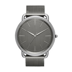Men's Mesh Strap Watch - Goodfellow & Co™ Gunmetal