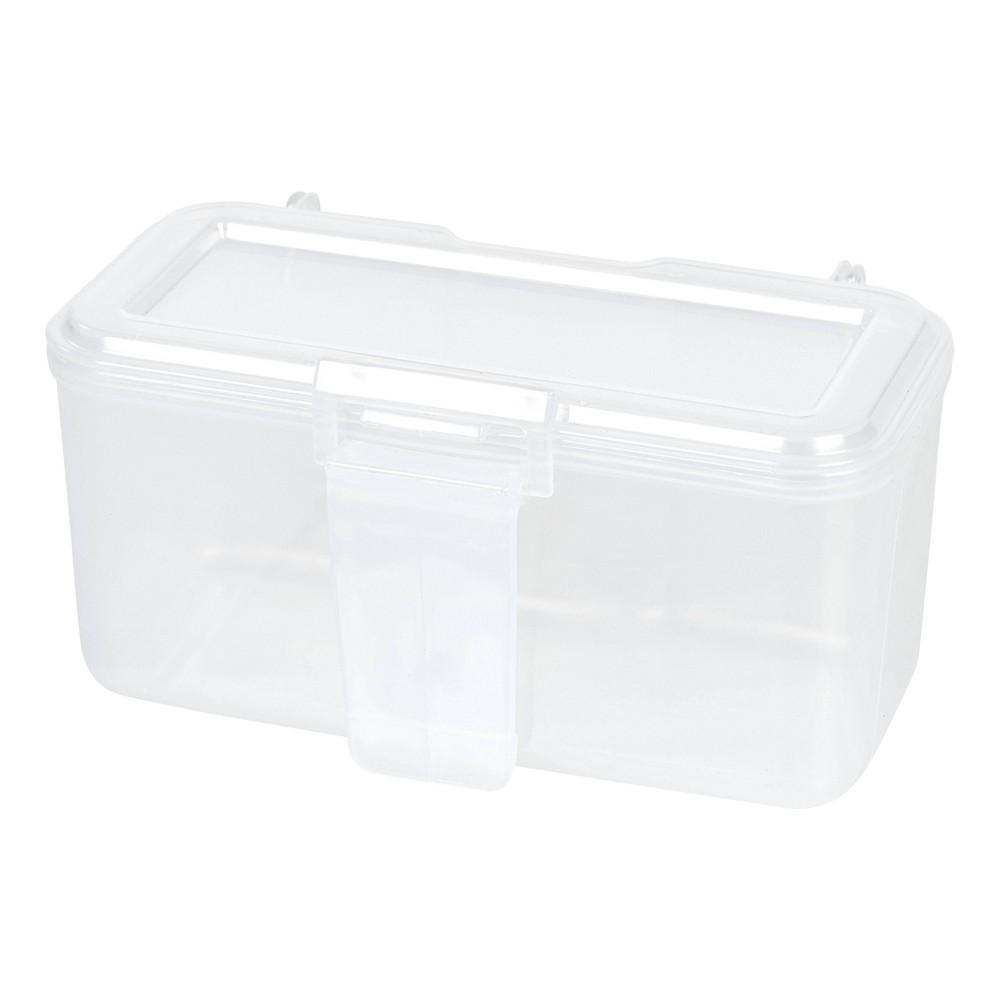 Image of IRIS Large Portable Utility Storage Cases - White