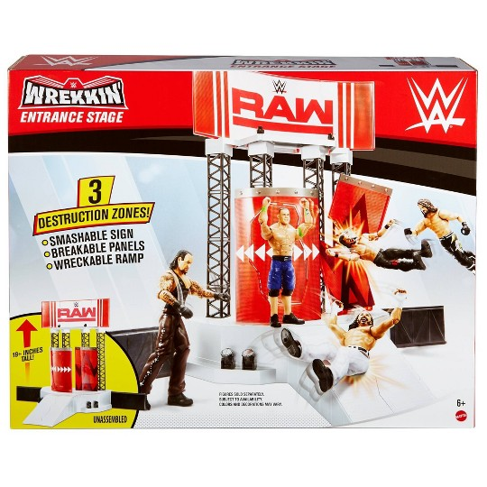 WWE Wrekkin Entrance Stage Playset image number null