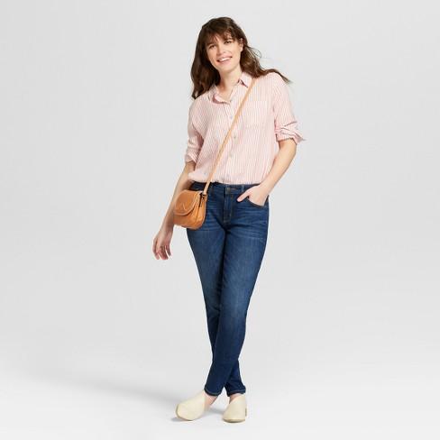 9465f97b31dfd Women s Mid-Rise Curvy Skinny Jeans - Universal Thread™ Dark Wash ...
