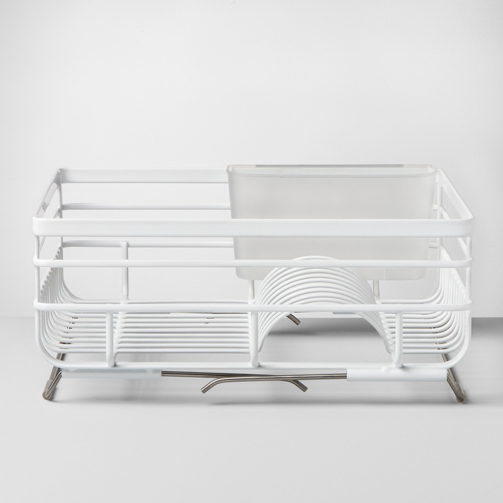 Wire Dish Rack Over the Sink White - Made By Design