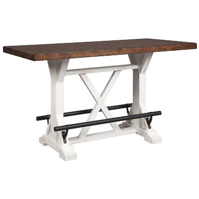 Valebeck Counter Height Dining Room Table Brown - Signature Design by Ashley