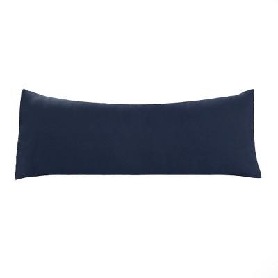 1 Pc Body 1800 Series Soft Brushed Microfiber Pillowcase Navy - PiccoCasa