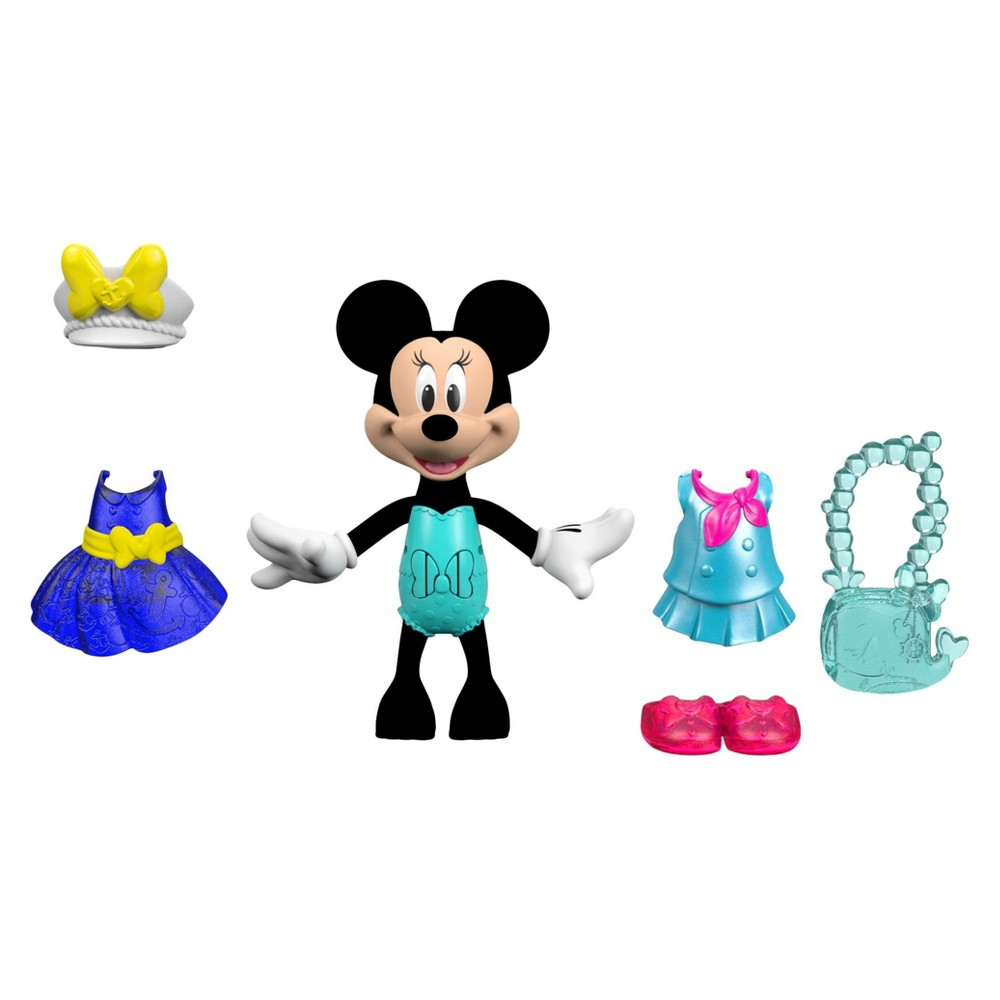 Fisher-Price Disney Minnie Mouse Sail 'n Style Minnie Fashion Doll