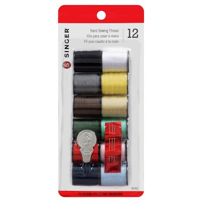 Singer 12pk Thread - Assorted Colors