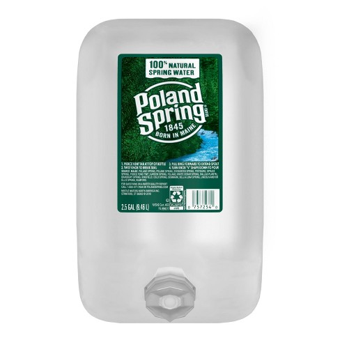 Poland Spring Brand 100% Natural Spring Water - 2.5 gal Jug - image 1 of 4