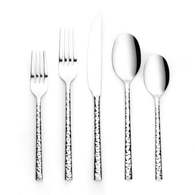 20pc Stainless Steel Marsio Hammered Silverware Set - Project 62™
