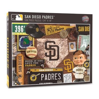 MLB San Diego Padres 500pc Retro Series Puzzle