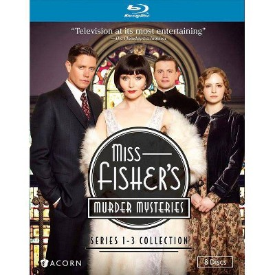 Miss Fisher's Murder Mysteries: Series 1-3 Collection (Blu-ray)(2016)