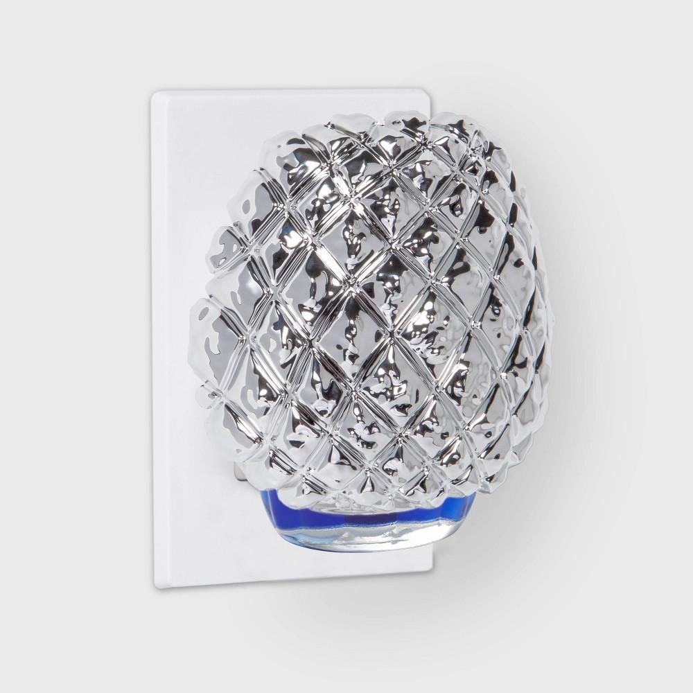 Hobnail Mercury Glass Plug In Opalhouse 8482
