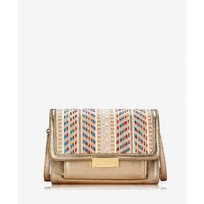GiGi New York Gold Kate Cross-Body Bag