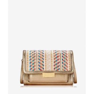 GiGi New York Gold Kate Cross-Body Bag