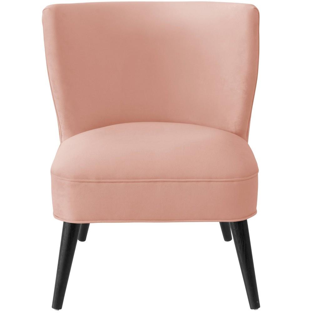 Armless Pleated Chair Velvet Blush Furniture - Skyline Furniture Armless Pleated Chair Velvet Blush Furniture - Skyline Furniture Gender: Unisex.