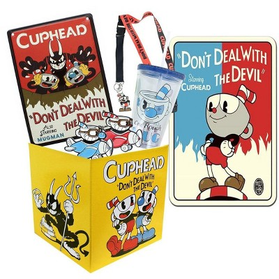 Toynk Cuphead Collectibles | Cuphead Looksee Collector's Box Version 2