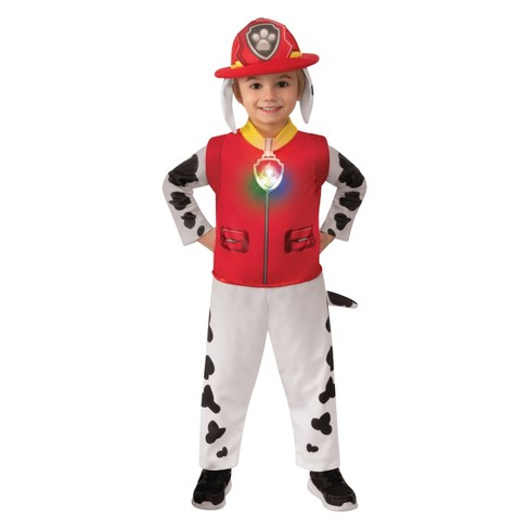 Toddler PAW Patrol Marshall Halloween Costume Jumpsuit - image 1 of 3
