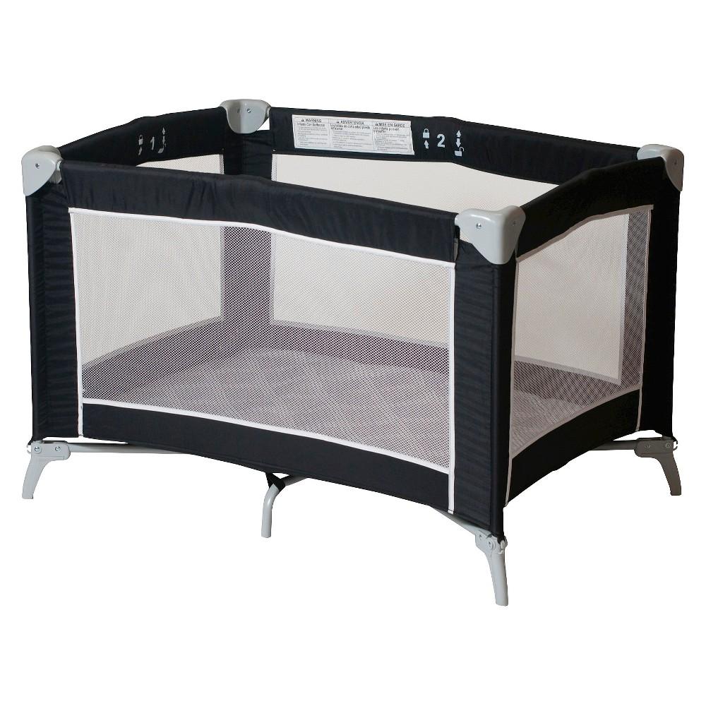 Image of Foundations Sleep n Store Portable Playard - Graphite, Black
