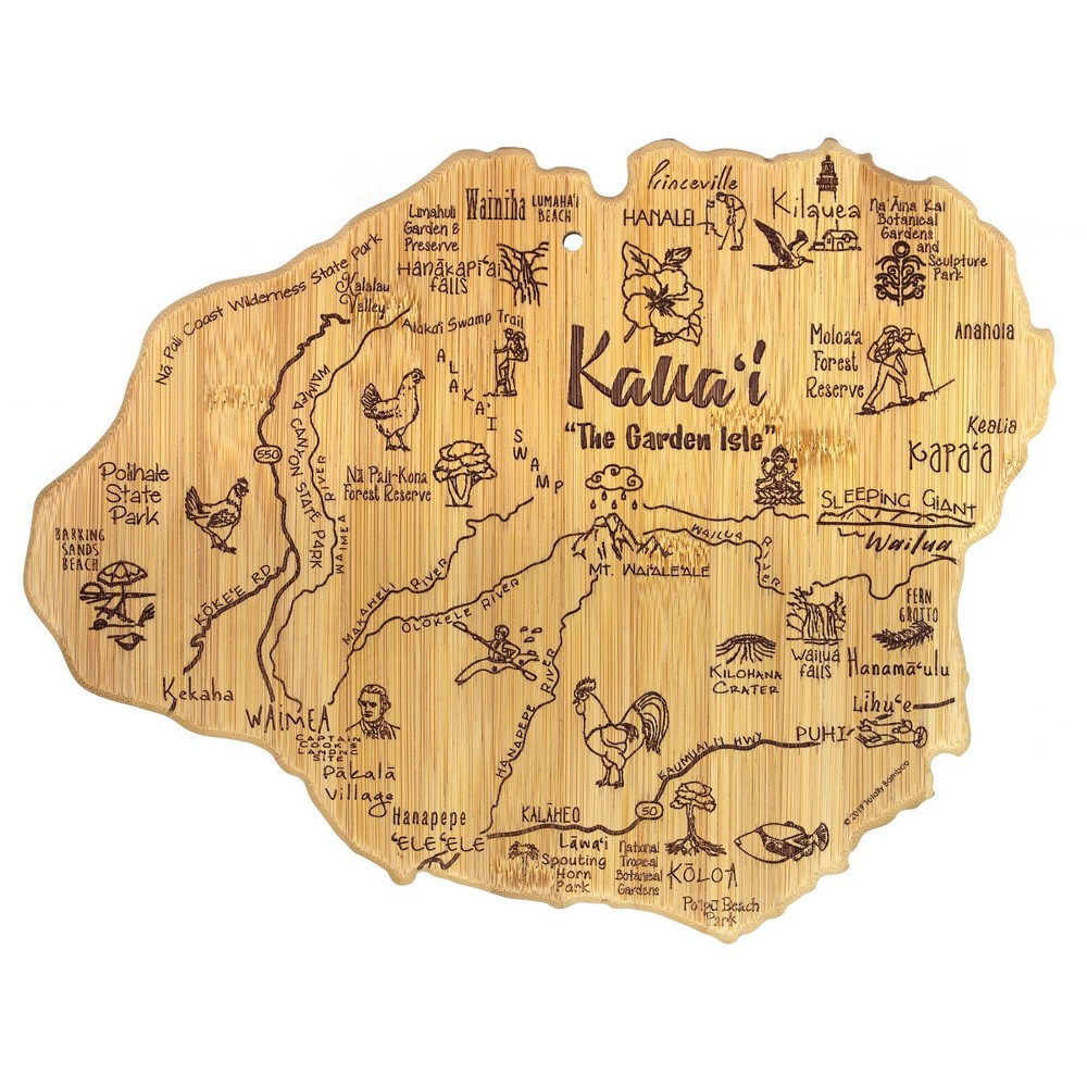 Best Totally Bamboo Destination Kauai Serving and Cutting Board