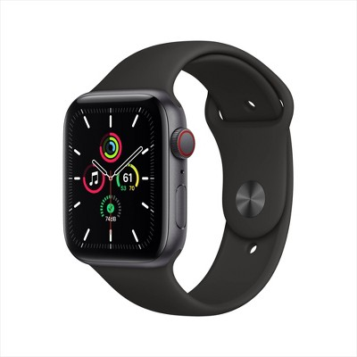 Apple Watch SE GPS + Cellular Aluminum Case with Sport Band