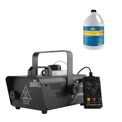 Chauvet DJ Hurricane 1200 1.0L Pro Fog Machine with Chauvet 1 Gallon Fog Fluid
