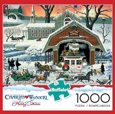 Buffalo Games Charles Wysocki: Twas The Night Before Christmas Puzzle 1000pc