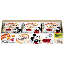 Pepperidge Farm Goldfish Mickey Mouse Baked Snack Crackers - .75oz/9ct