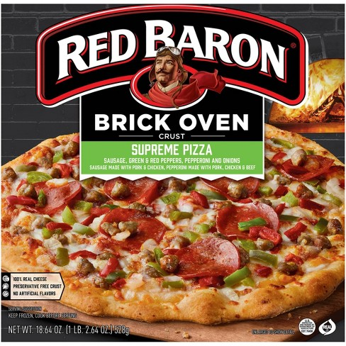 Red Baron Brick Oven Supreme Frozen Pizza - 18.64oz - image 1 of 4
