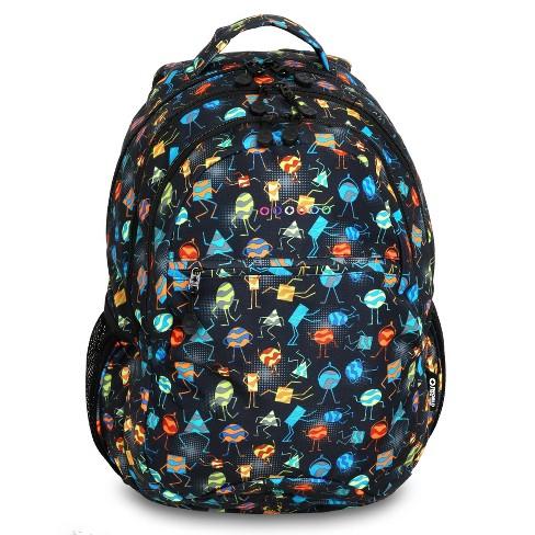 "JWorld 19"" Cornelia Laptop Backpack - Party Mobs - image 1 of 4"