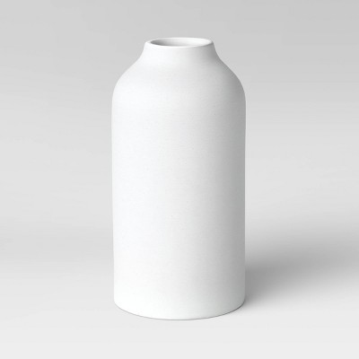 Textured Ceramic Vase White - Project 62™