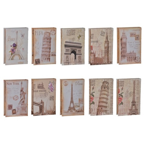 Faux Book - Set of 10 - A&B Home - image 1 of 1