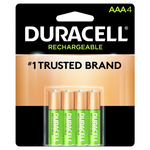 Duracell Rechargeable Aaa Batteries 4ct Target