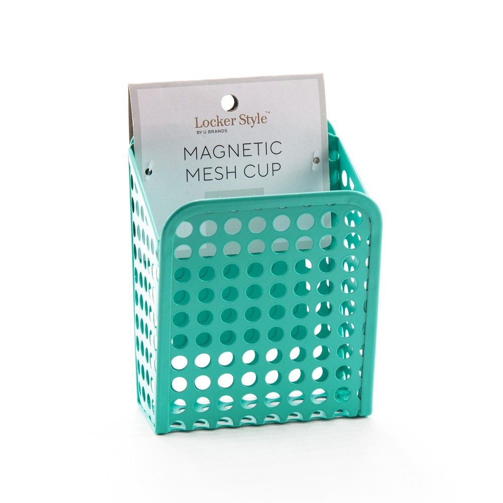 Magnetic Mesh Cup Blue - Locker Style