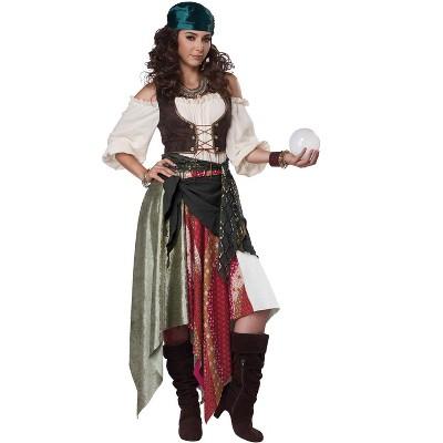 California Costumes Renaissance Fortune Teller / Pirate Adult Costume