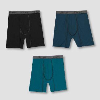 Hanes Mens Comfort Flex Fit Long Leg Boxer Briefs 3pk - XL